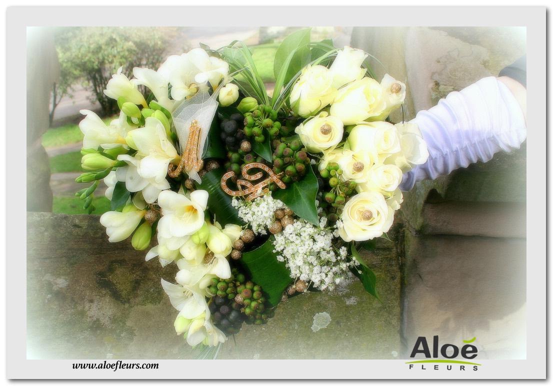 Bouquets de mari e accueil aloe fleurs for Bouquet de fleurs coeur