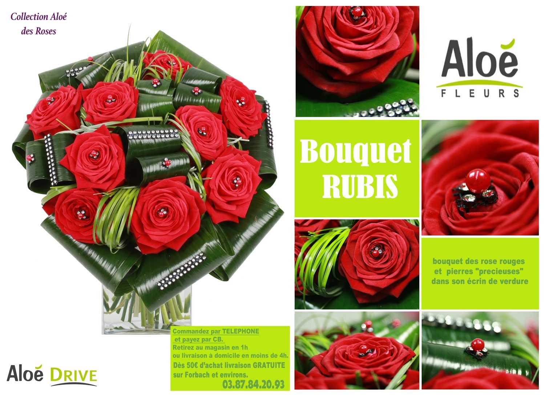 Bouquet-Rubis