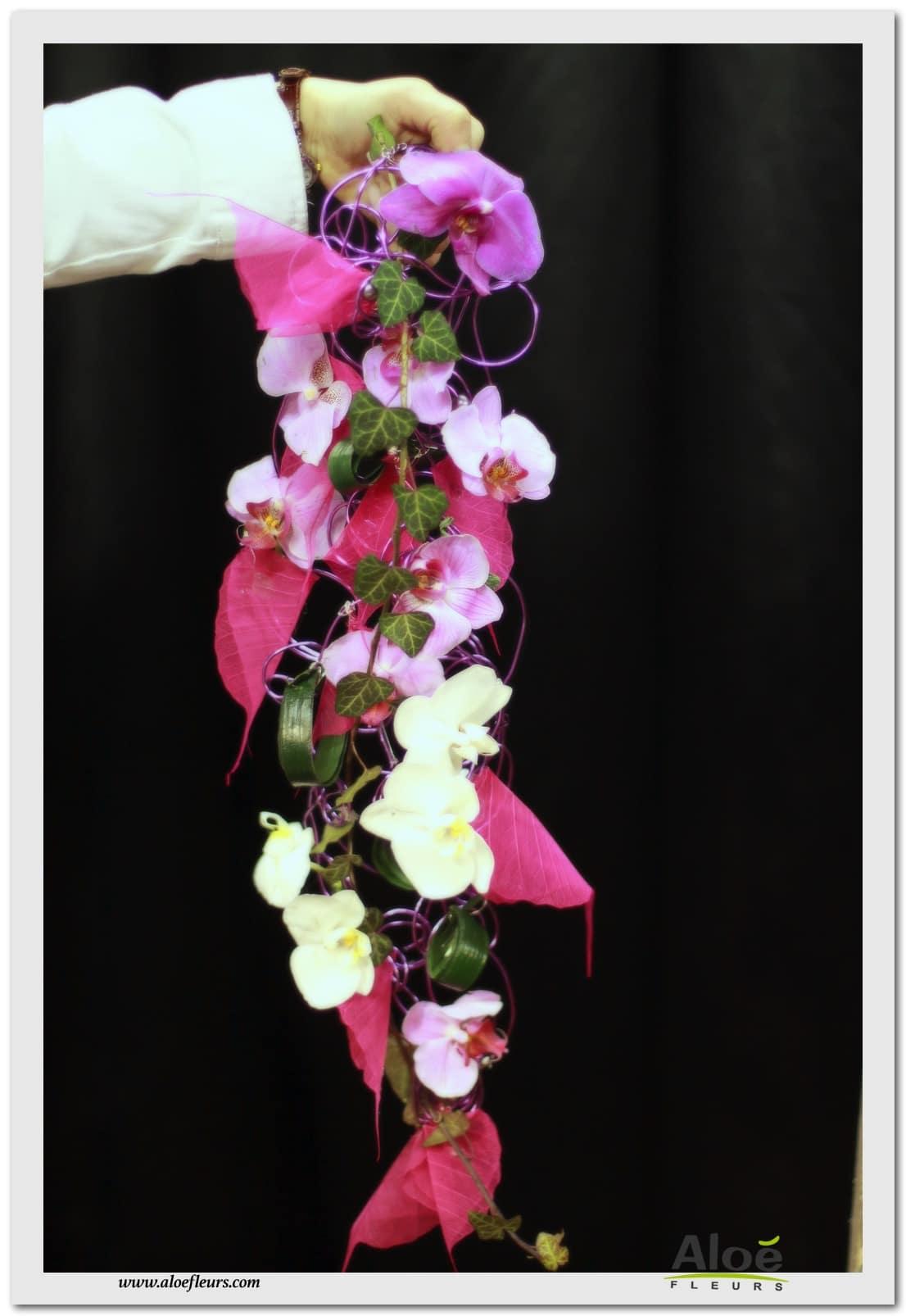 bouquets de mariée ( accueil ) - aloe fleurs