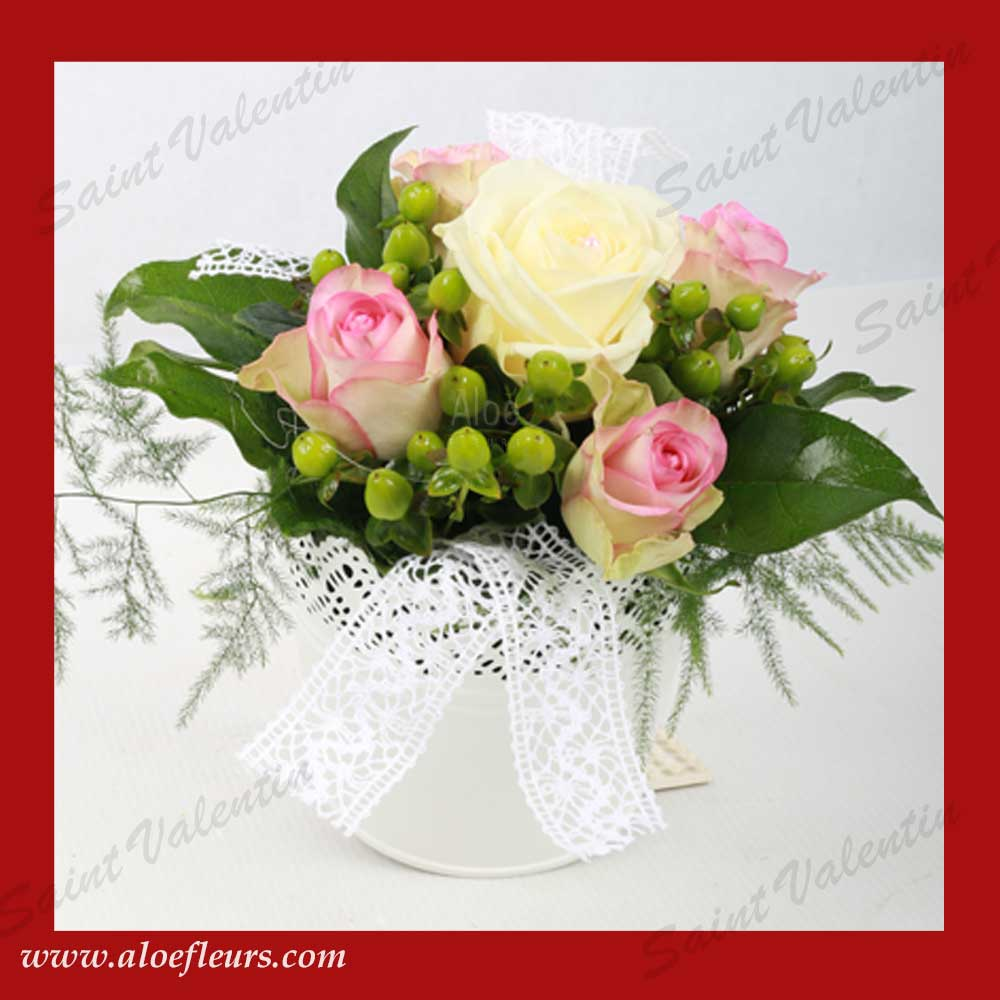 Saisons l art floral pour la saint valentin aloe fleurs for Comcomposition florale saint valentin