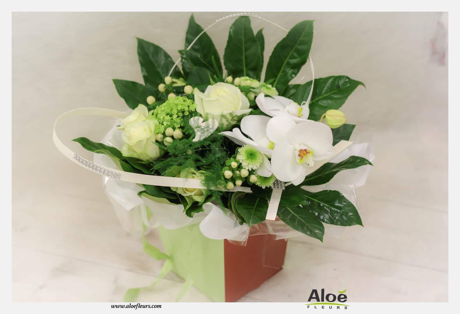 Bouquets Et Compositions De Saint Valentin Aloé Fleurs 1959 11