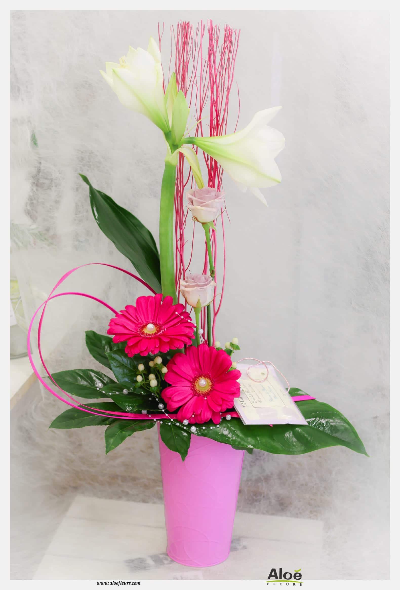 Bouquets Et Compositions De Saint Valentin Aloé Fleurs 2000 23