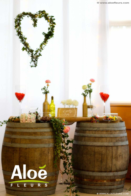 bouquet de mari e romantique th me de d coration de mariage r tro nature. Black Bedroom Furniture Sets. Home Design Ideas