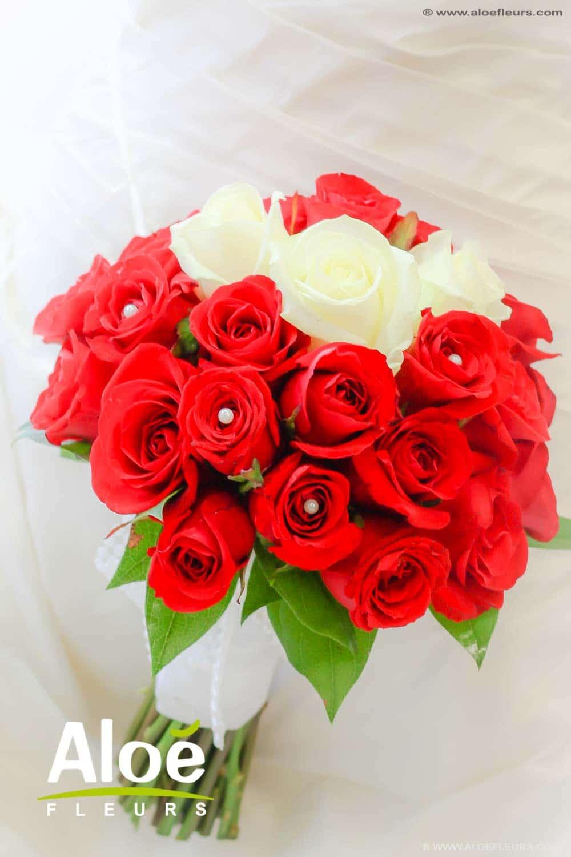 Bouquets de mari e accueil aloe fleurs - Bouquet de fleur en coeur ...