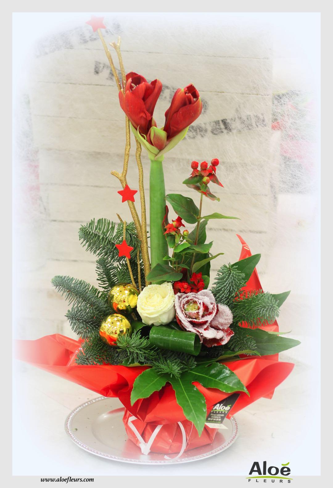 Meilleur 6303 decoration florale de noel 2015 avec des for Perle d eau decoration florale