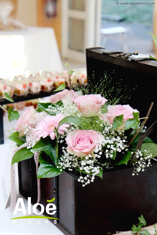fleurs mariage champetre. Black Bedroom Furniture Sets. Home Design Ideas