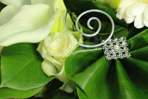 Bouquet emotion fleurs lys arum freesia blanc et vert for Bouquet de fleurs vert et blanc