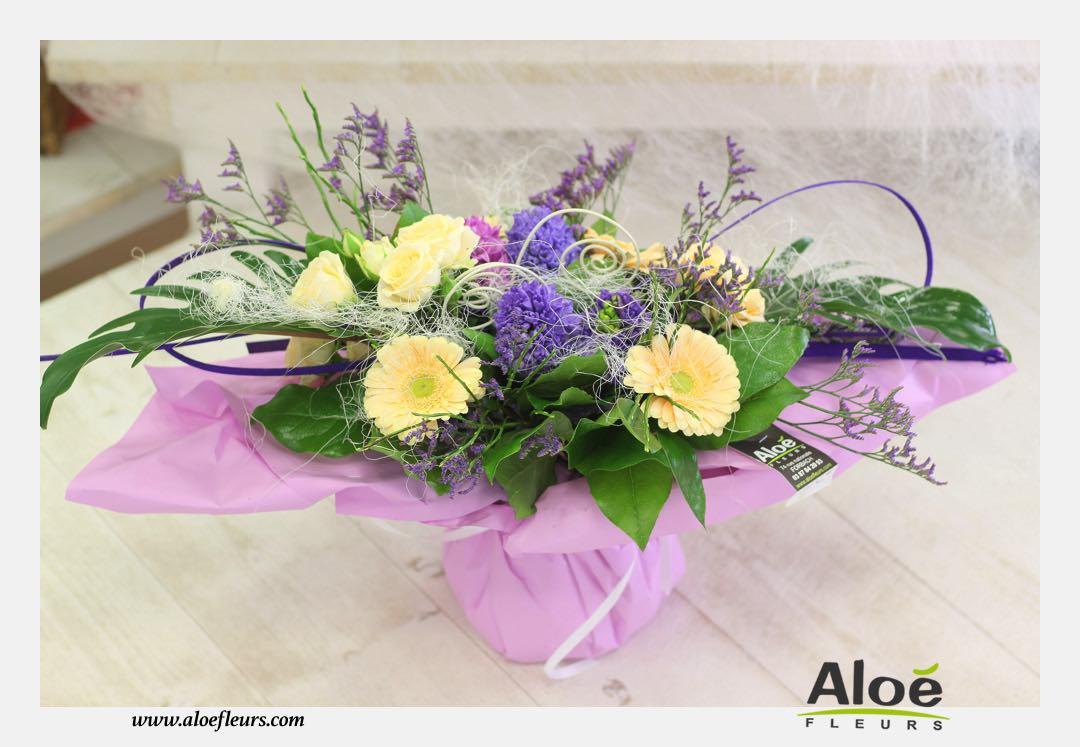 bouquet fleurs printemps 2016 17 aloe fleurs. Black Bedroom Furniture Sets. Home Design Ideas