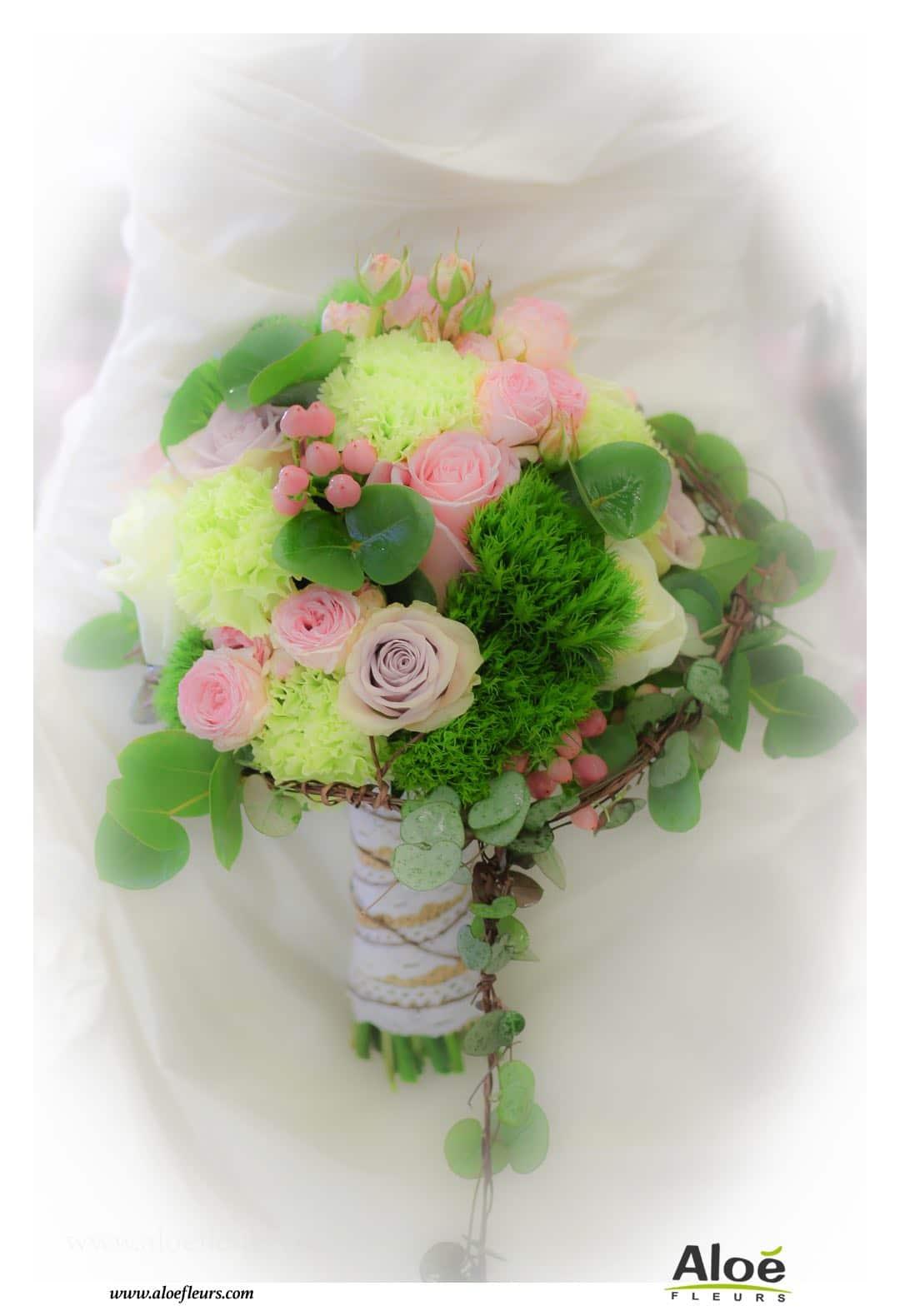 Bouquets de mari e accueil aloe fleurs for Bouquet de fleurs 2016