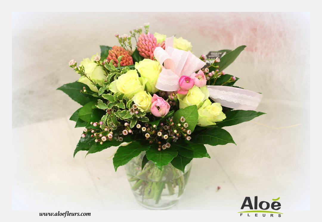 Bouquet fleurs printemps 2016 2 2 aloe for Bouquet de fleurs printemps