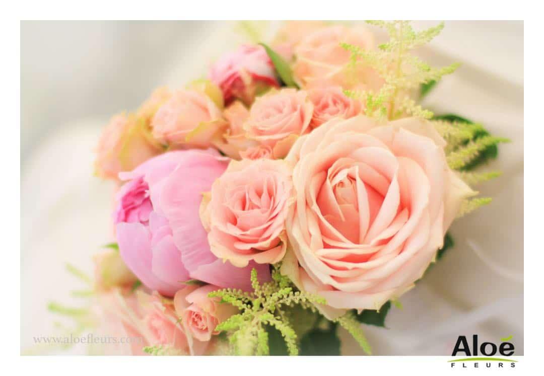bouquet roses anciennes - gb 3e