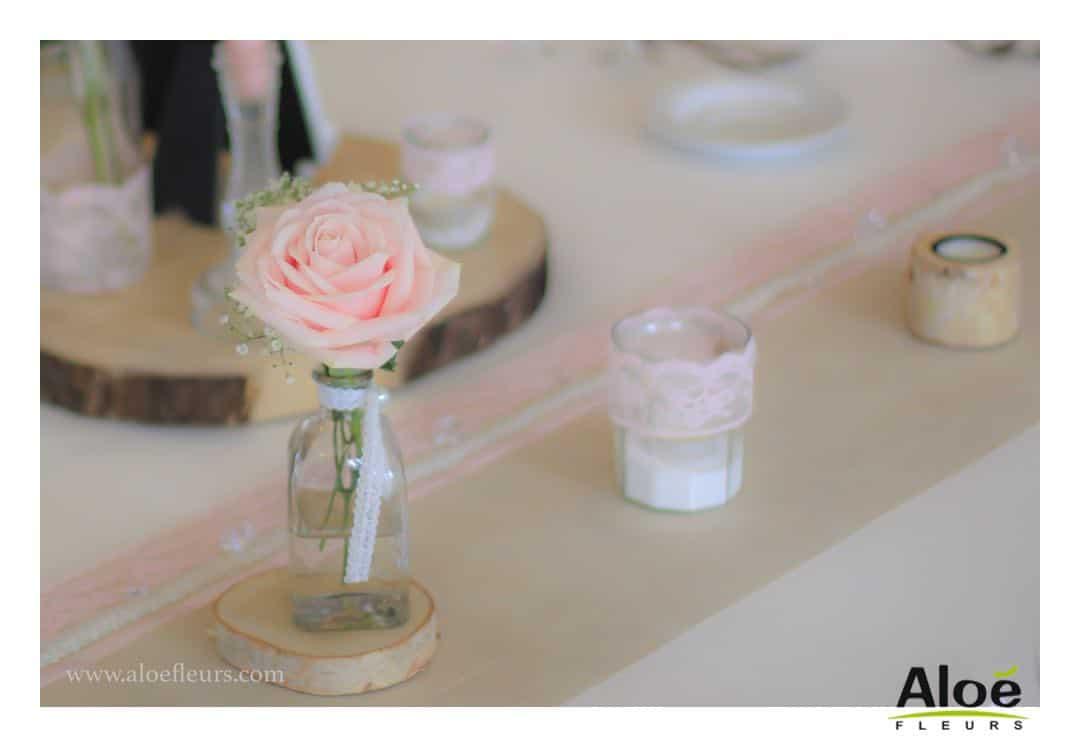 cadre bouquet mari e et mariage pivoine rose ancienne 0386 51 aloe fleurs. Black Bedroom Furniture Sets. Home Design Ideas