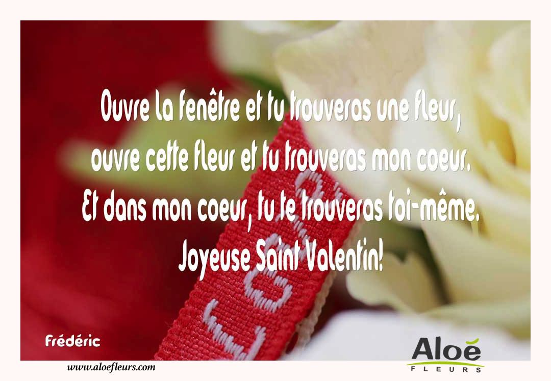 Citations d 39 amour et saint valentin ouvre la fen tre for Les charlots ouvre la fenetre