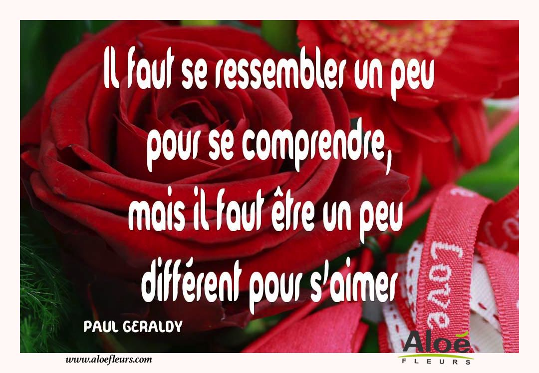Citations D'amour Et Saint Valentin  PAUL GERALDY