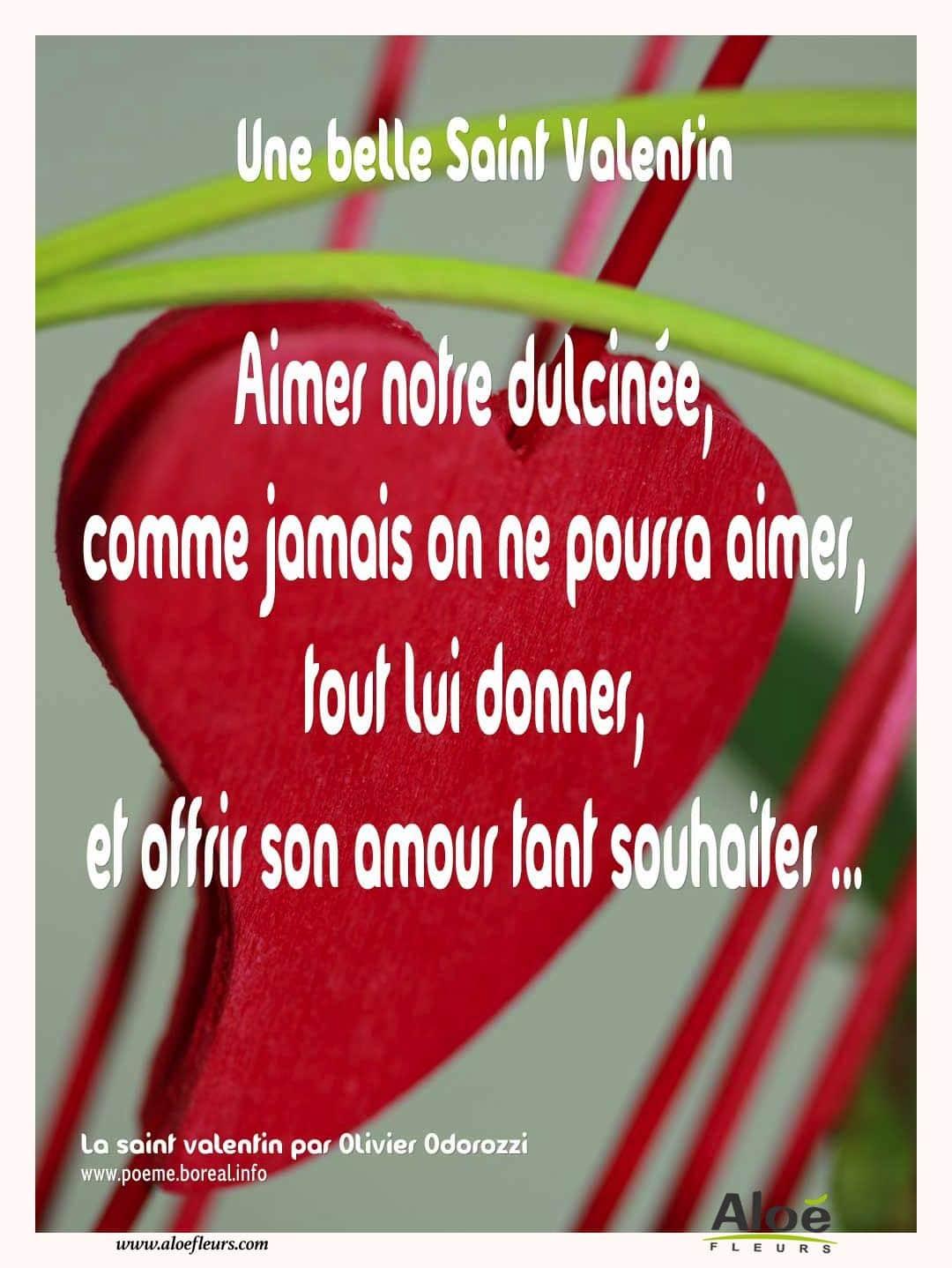 citations damour et Saint valentin -Une-belle-saint-valentin- ALOE ...