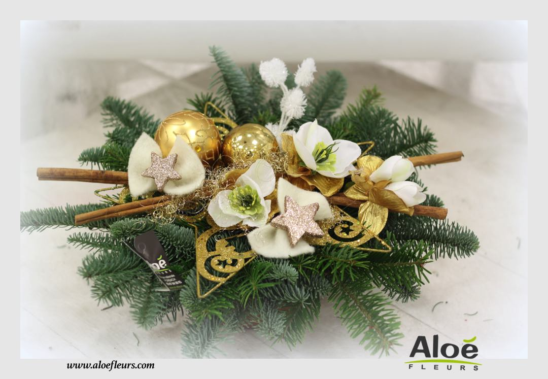 Composition florale noel originale - Composition florale de noel originale ...