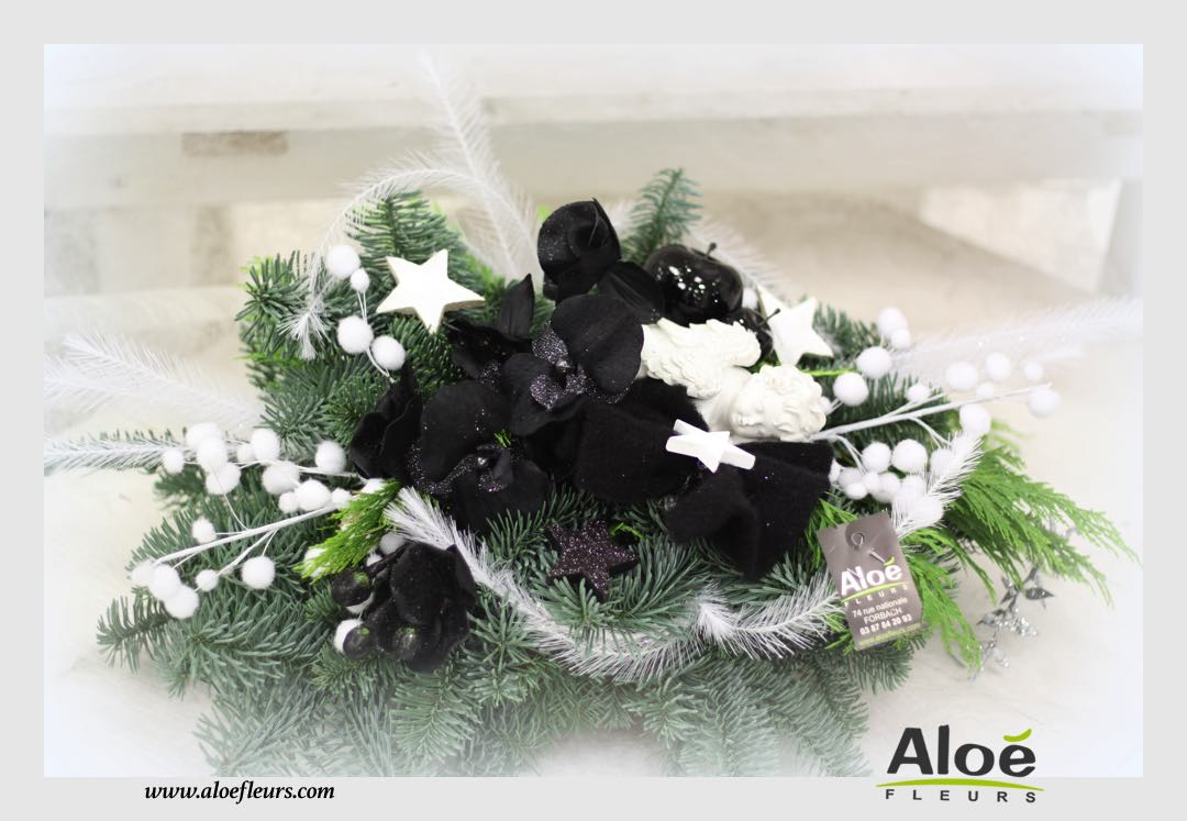 Composition florale de noel originale noel marvelous deco noel nature a faire soi meme idcae - Composition florale de noel originale ...