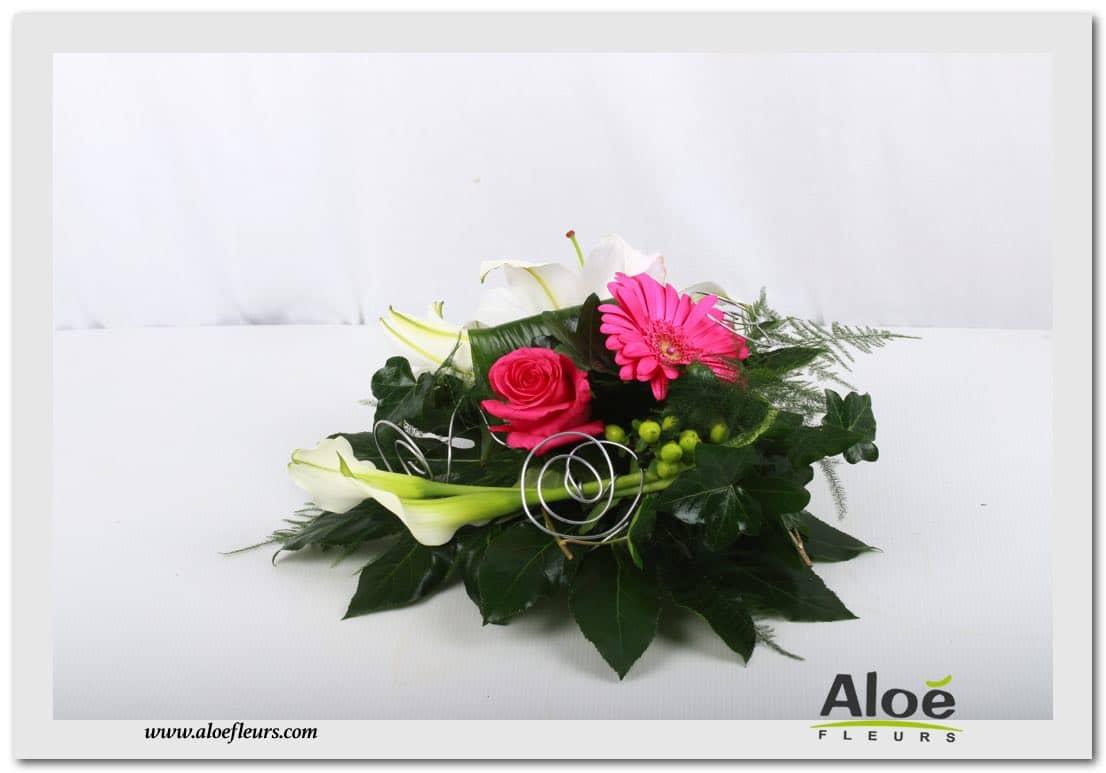 d 233 coration florale pour mariage centre de table mariage alo 233 fleurs10 aloe fleurs