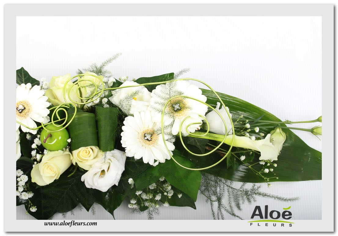 Decoration florale mariage table - Composition florale centre de table ...