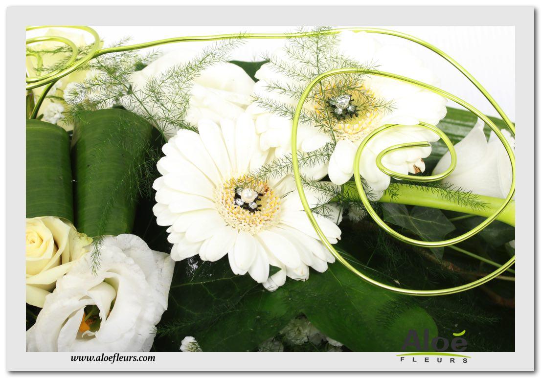 d coration florale pour mariage centre de table mariage alo fleurs29 aloe fleurs. Black Bedroom Furniture Sets. Home Design Ideas