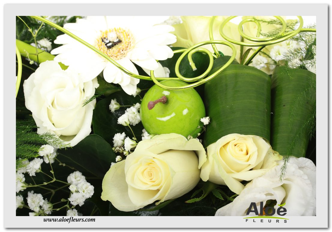D corations florales de tables et salles aloe fleurs - Decoration florale mariage centre de table ...