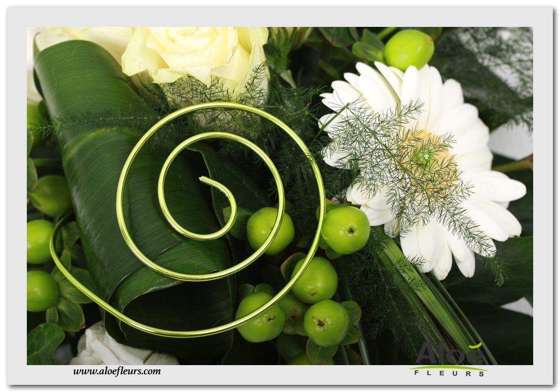 D coration florale pour mariage centre de table mariage alo fleurs52 aloe fleurs Centre de table mariage fleurs