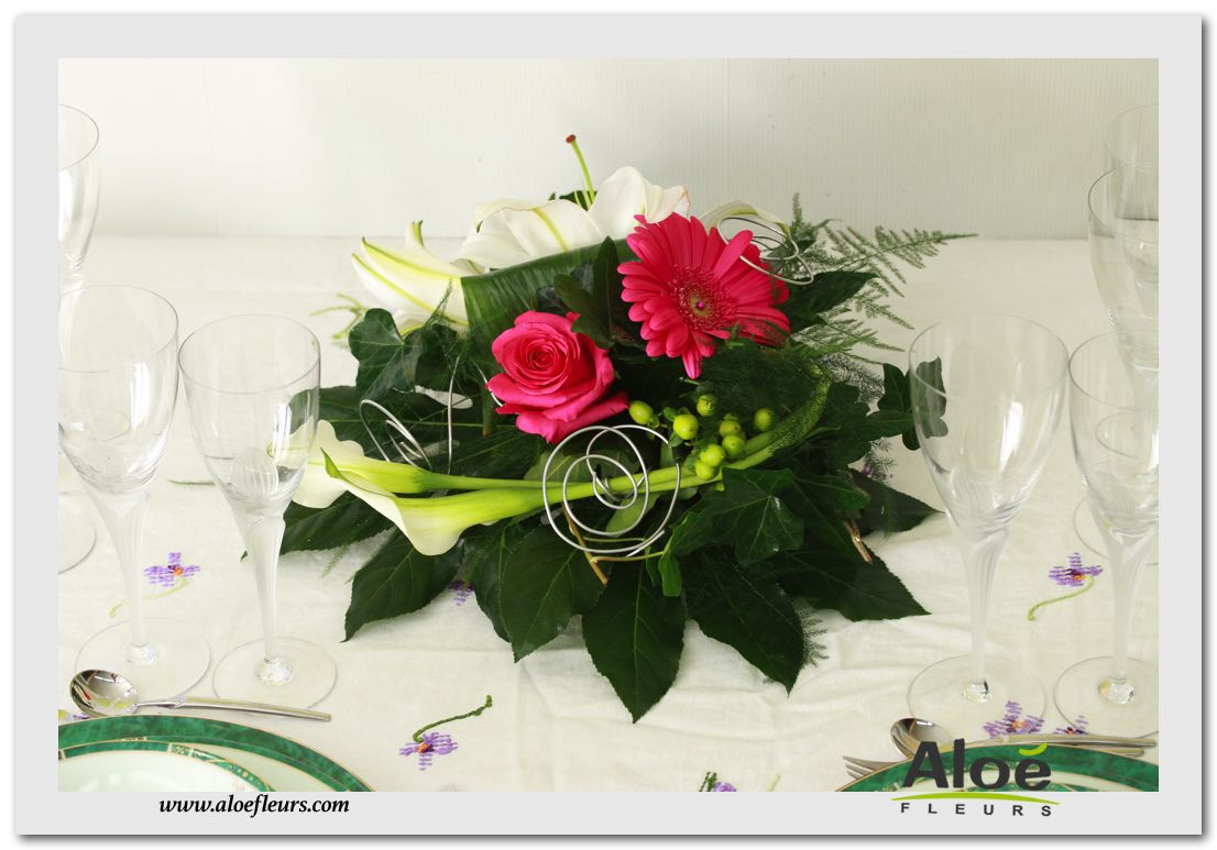 Composition Florale Pour Table