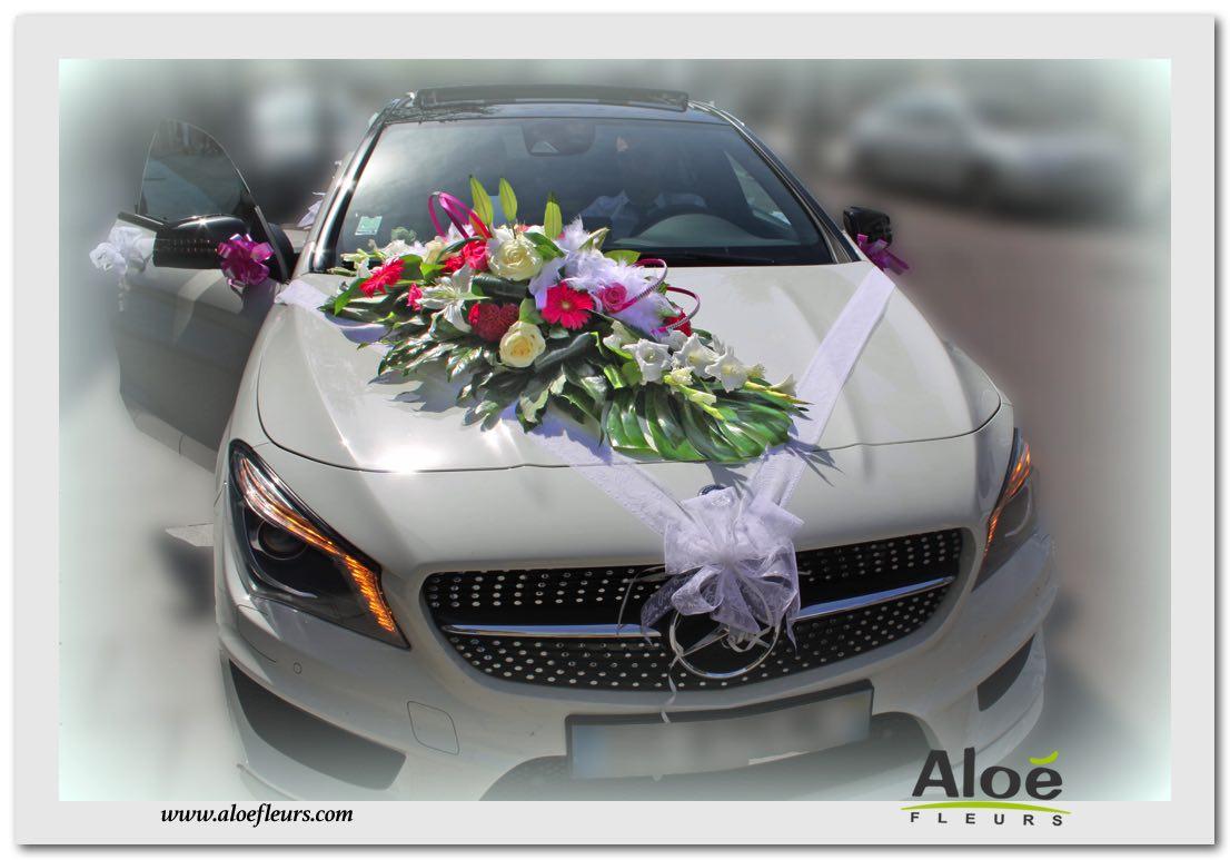 decoration voiture mariage tarif
