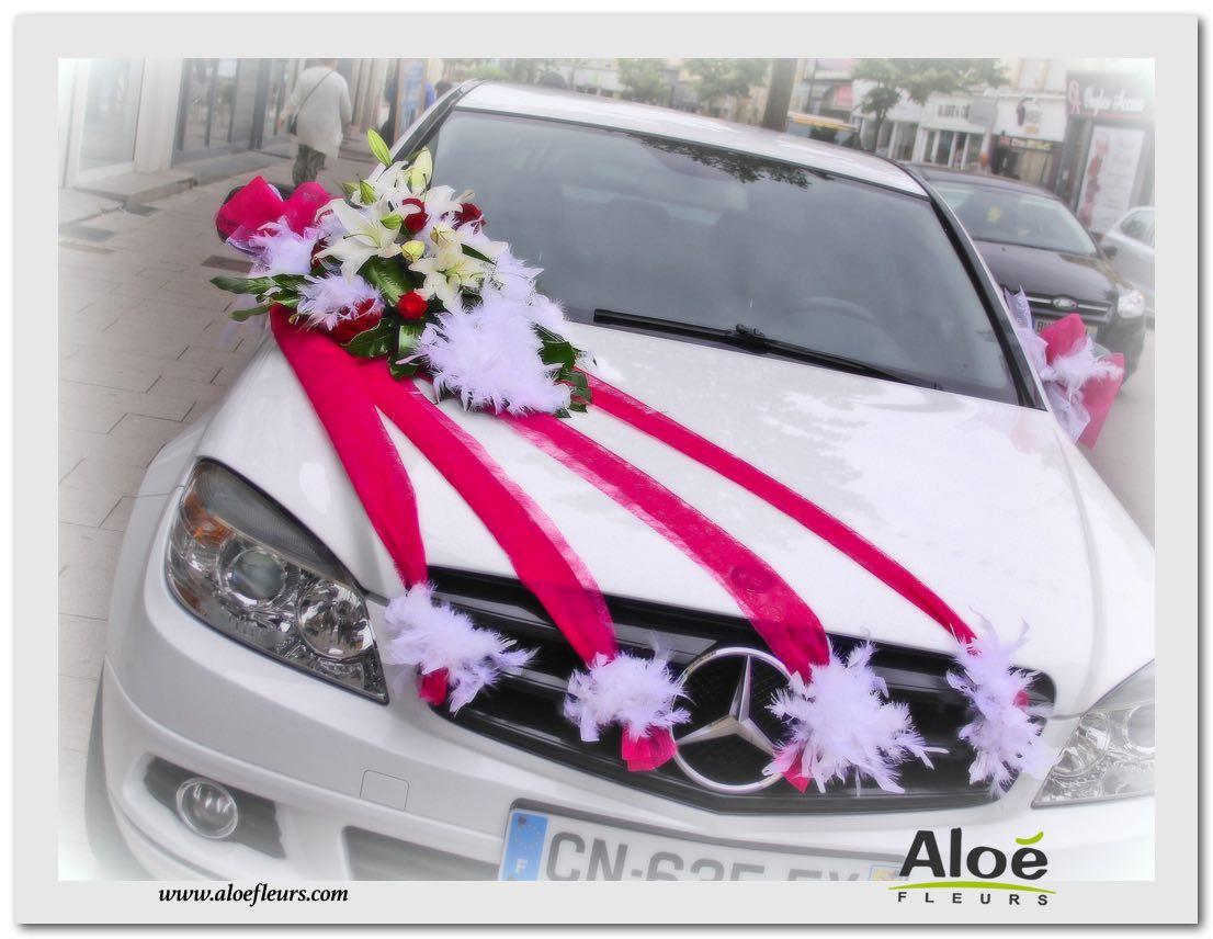D coration florale de voitures de mari s en photos - Decoration de voiture ...