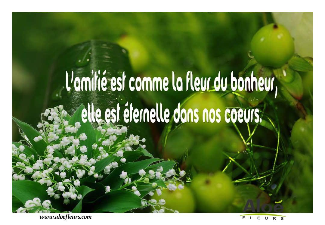 F te du travail 1er mai muguet porte bonheur - Image d amour gratuite ...