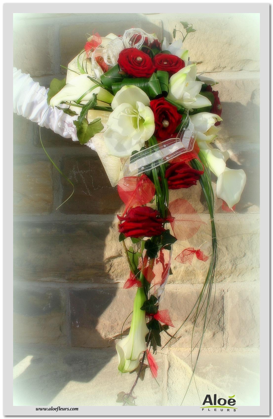 Bouquets De Mariee Accueil Aloe Fleurs