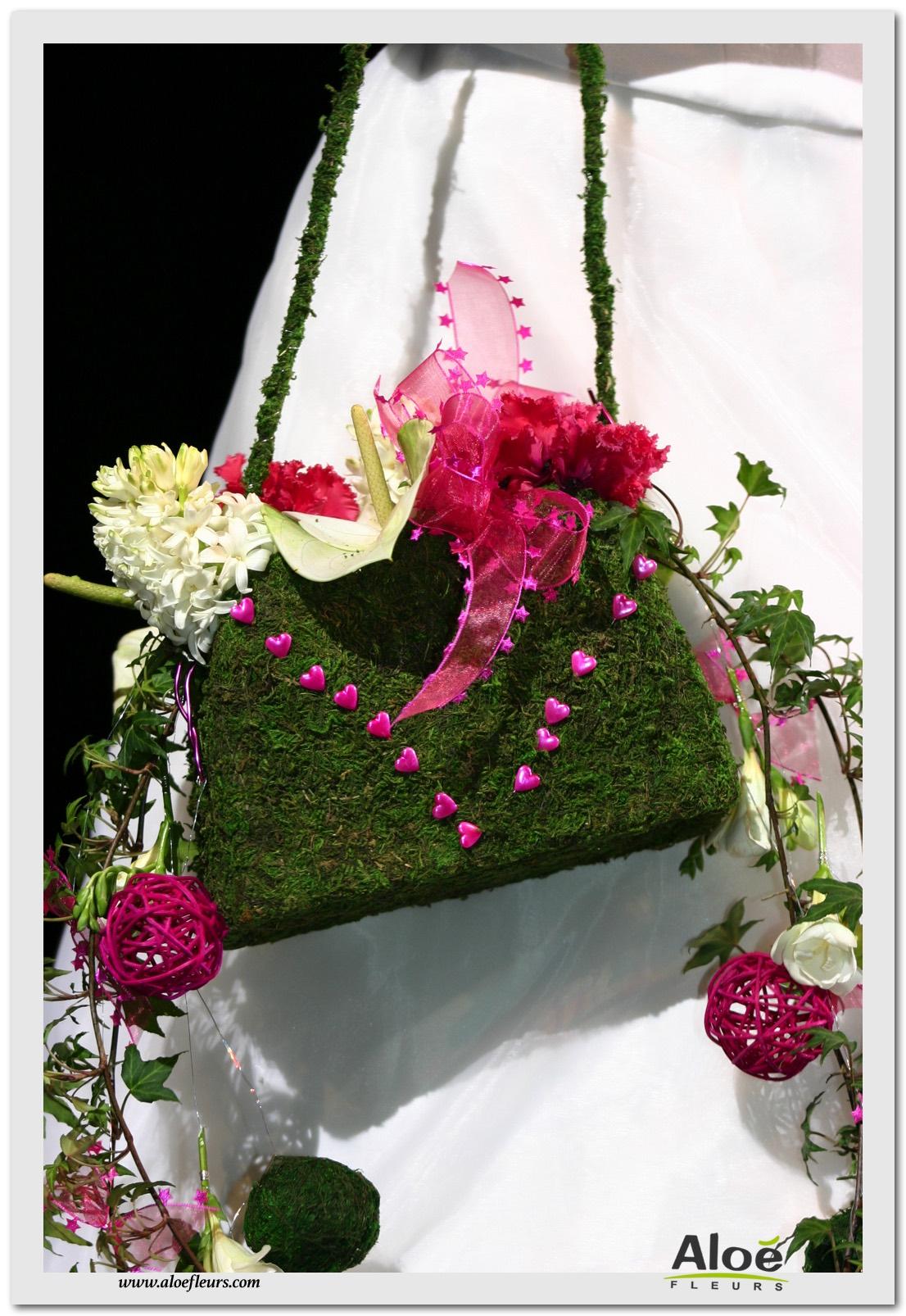 bouquets de mariée contemporain - aloe fleurs
