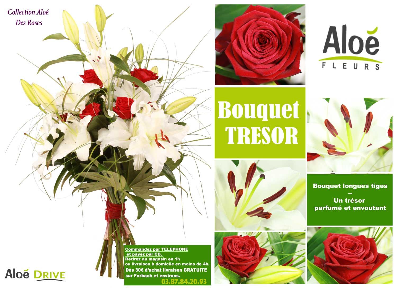 Bouquet-lys-blanc-et-grandes-roses