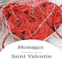 Bouton Saint Valentin Messages