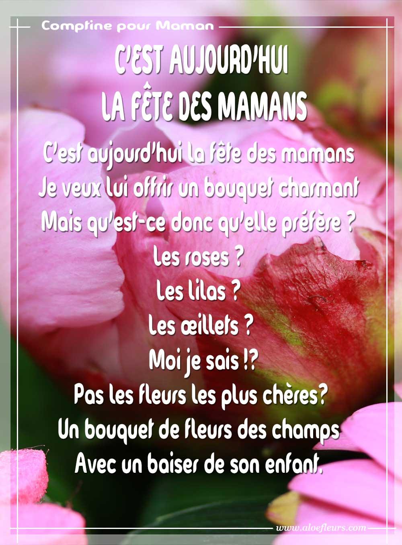 C 39 est aujourd 39 hui la f te des mamans aloe fleurs - Image fete des mamans ...