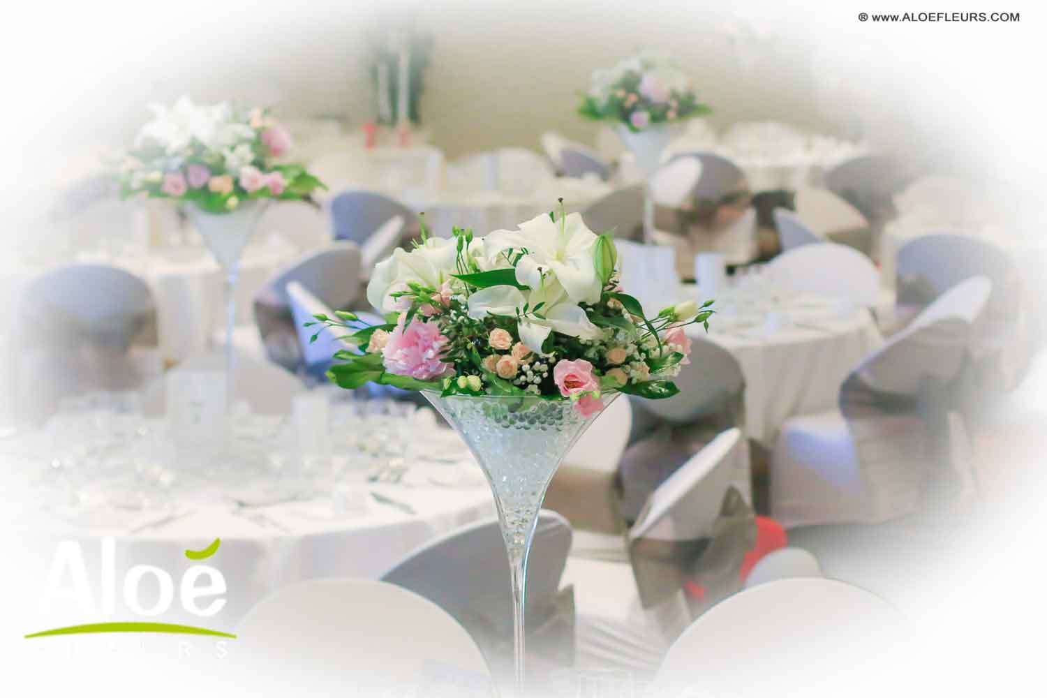 Compositions De Table Salle Mariage Novotel  Contemporain 6