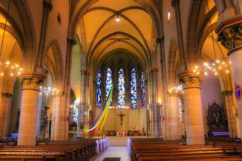 Église Saint Rémy de Forbach dimanche des rameaux
