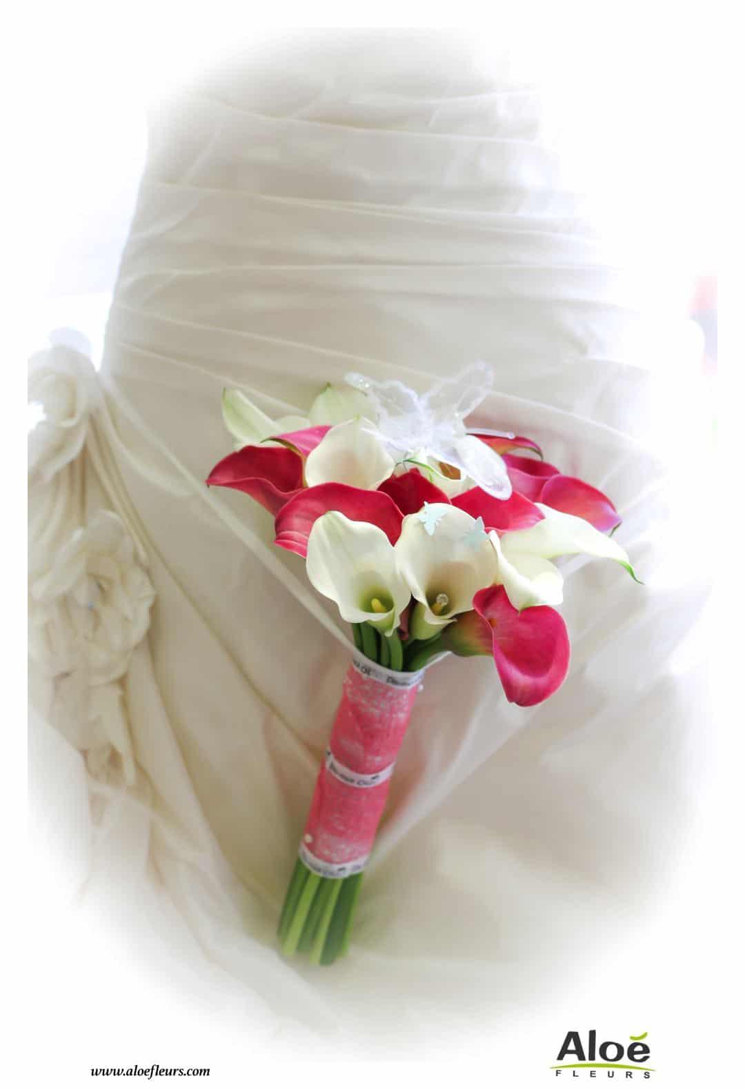 bouquet-de-mariée-rose