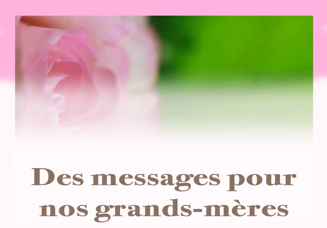 Bouton Grands Mere Messages