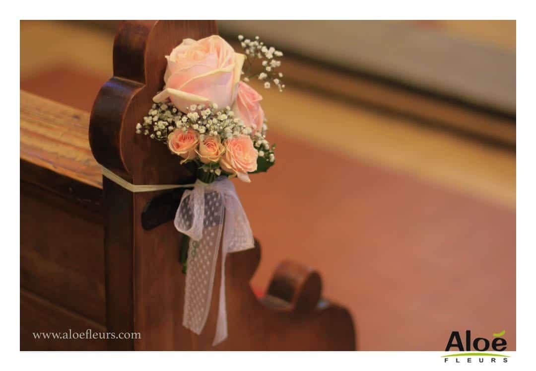 Decoration De Mariage Romantique : Mariage romantique décoration en pivoines et roses anciennes
