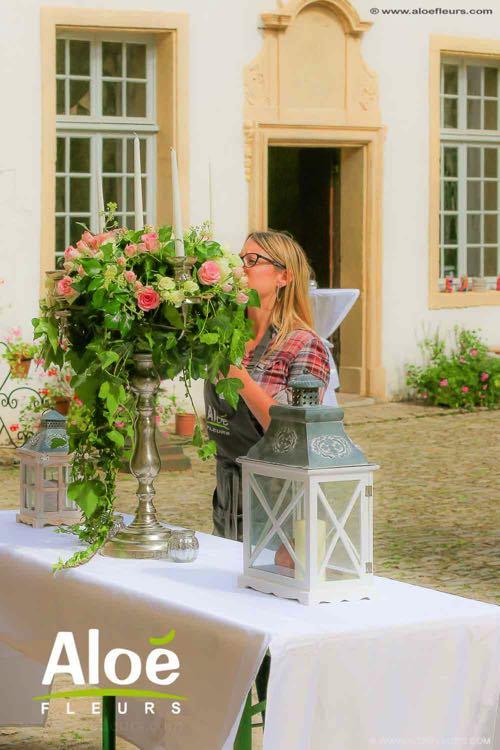 chandelier-mariage-fleurs