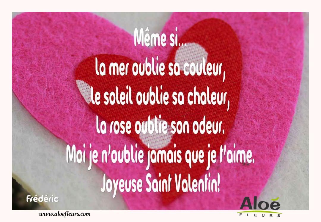 Citations Damour Et Saint Valentin Même Si La Mer Oublie
