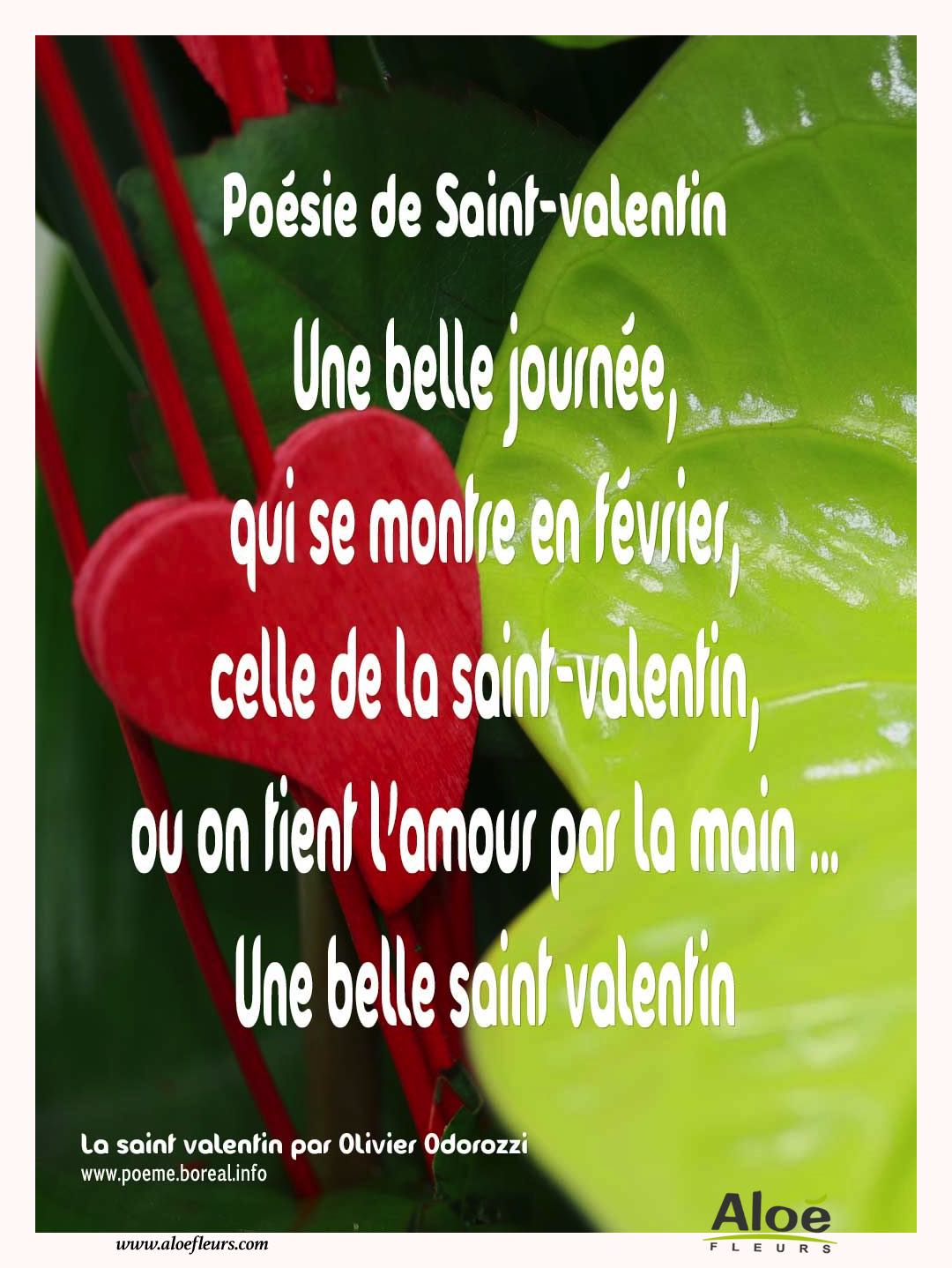 Citations D'amour Et Saint Valentin  Poésie De Saint Valentin