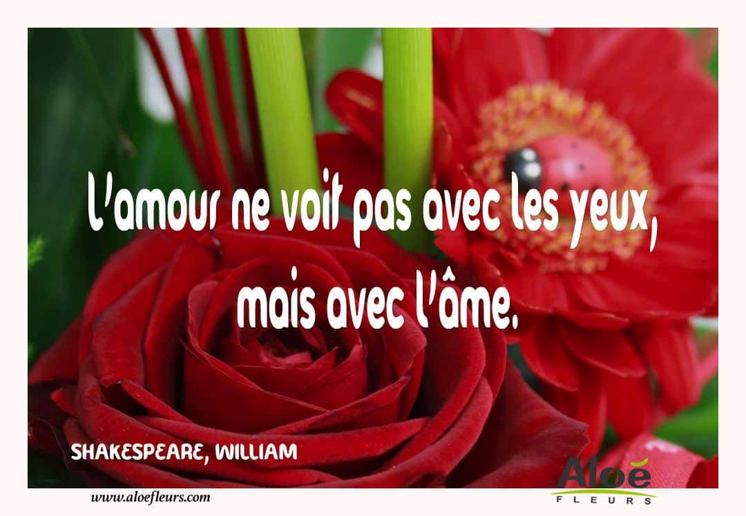 Citations D'amour Et Saint Valentin  SHAKESPEARE, WILLIAM