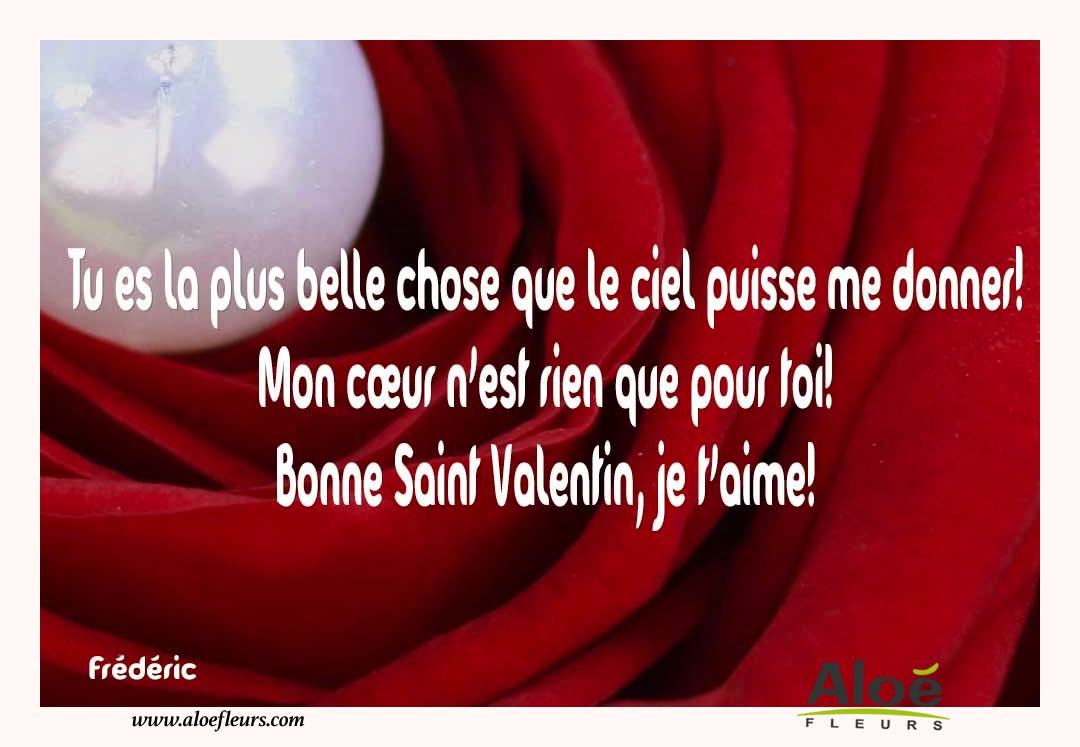 Citations D'amour Et Saint Valentin  Tu Es La Plus Belle Chose Que Le Ciel Puisse