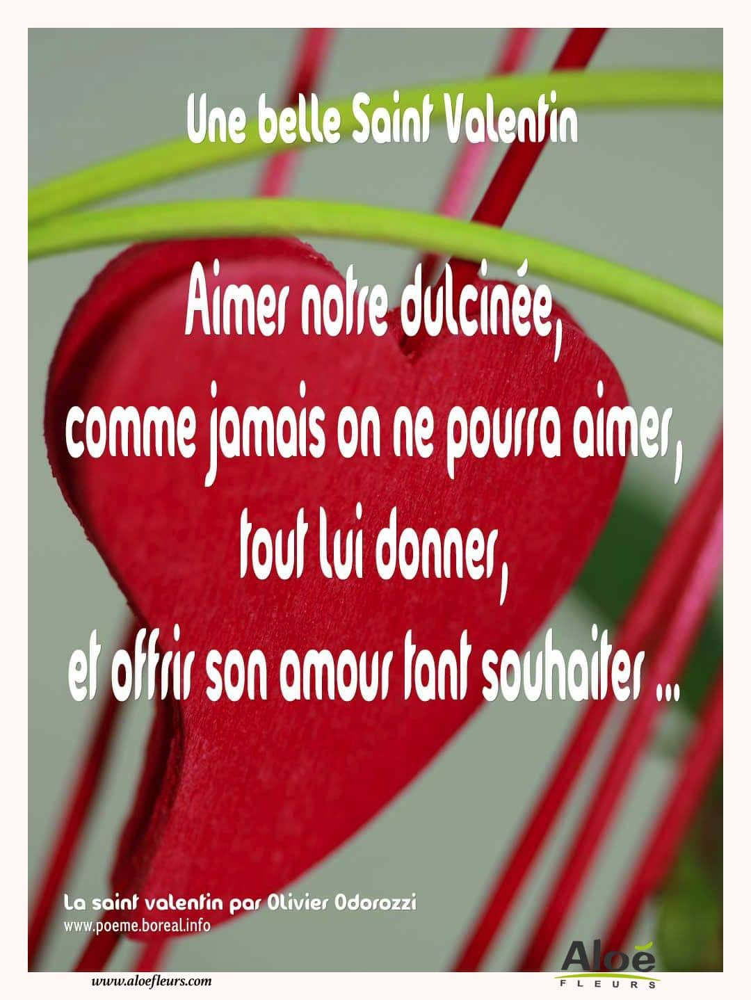 Citations D'amour Et Saint Valentin  Une Belle Saint Valentin