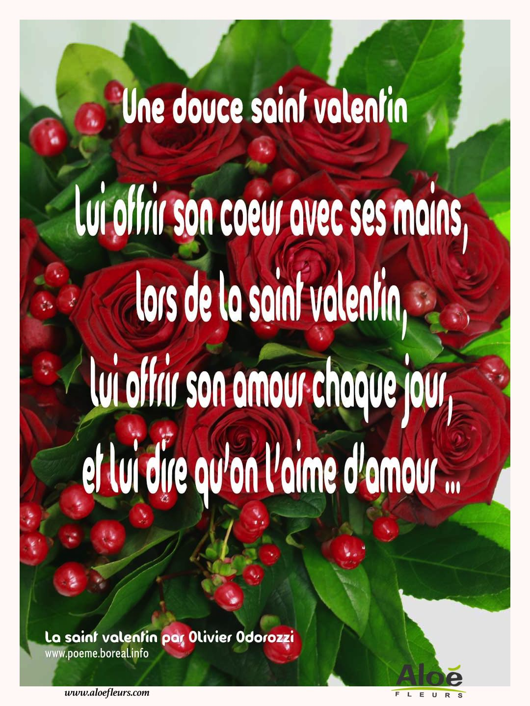 Citations D'amour Et Saint Valentin  Une Douce Saint Valentin