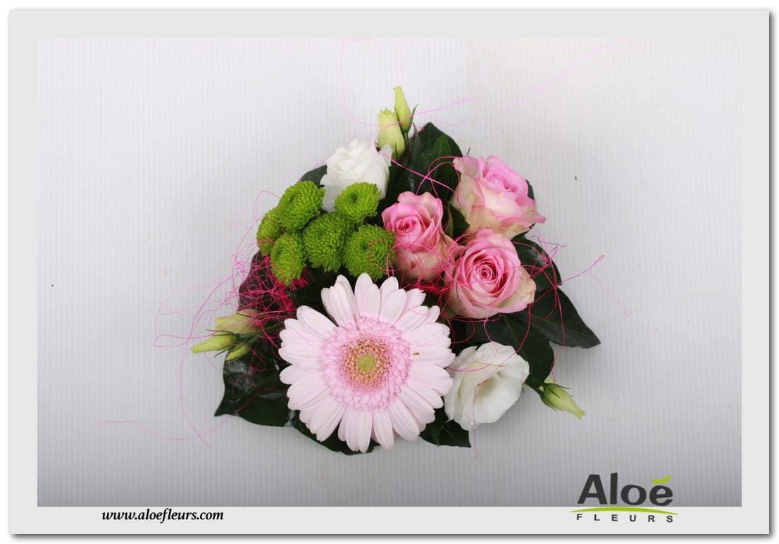 décoration florale pour mariage centre de table mariage aloé
