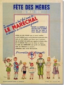 propagnade fête des mères Pétain