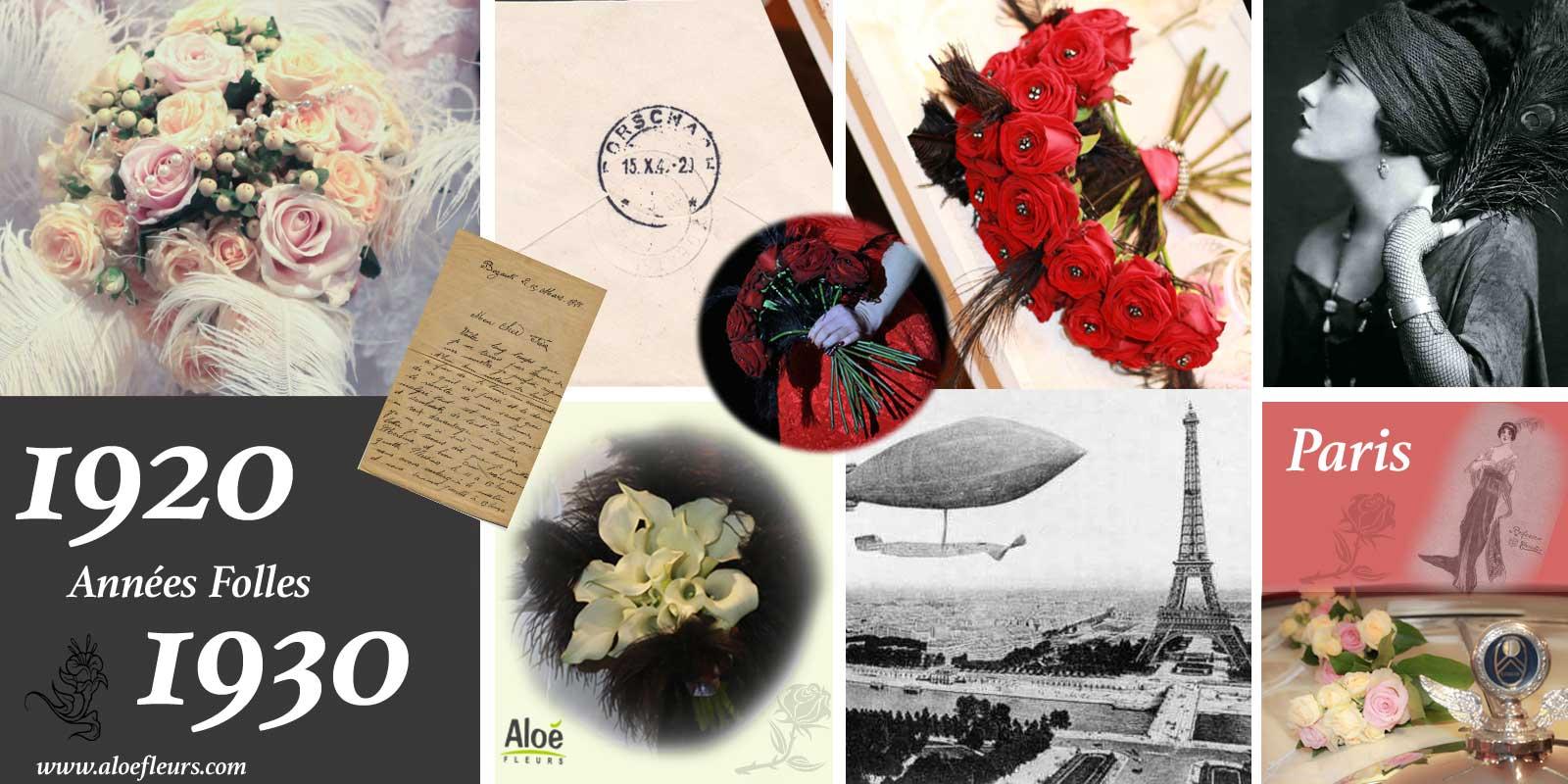 tendance-decoration-florale-2016-année-folles---alloefleurs.com